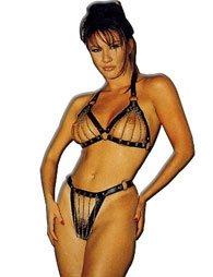 BDSM Γυναικείο σύνολο με σουτιέν και ένα κιλοτάκι
