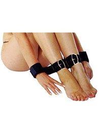 BDSM Δερμάτινο σετ δεσίματος για αστραγάλους και χέρια
