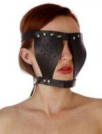 BDSM Δερμάτινη μάσκα διακριτικής κάλυψης ματιών
