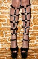 BDSM Δερμάτινο γυναικείο αξεσουάρ για τα πόδια