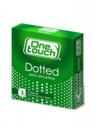 CONDOMS ONE TOUCH DOTTED