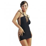 Ελαστικό Φόρεμα μαύρο
