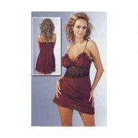 Φόρεμα Μπορντό-Μαύρο