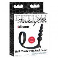 """Δαχτυλίδι & Χάντρες """"Ball Cinch with Anal Bead"""""""