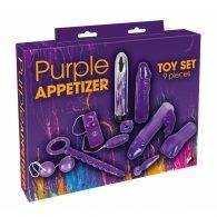 """Σετ """"Purple Appetizer"""" 9τμχ."""