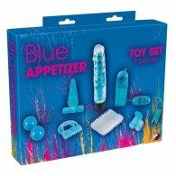 """Σετ """"Blue Appetizer"""" 8τμχ."""