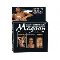 Ερωτικό μασάζ Magoon σετ 3x50 ml