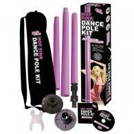 """Σετ μπάρα χορού """"Pink Pole"""""""