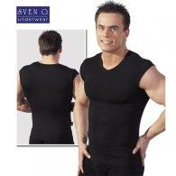 Μπλουζάκι Εφαρμοστό Μαύρο