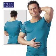 Γαλάζιο Μπλουζάκι Εφαρμοστό