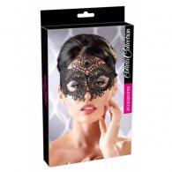Μαύρη μάσκα ματιών από δαντέλα Embroidered Mask