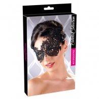 Μαύρη μάσκα με δαντέλα για μαγικές στιγμές