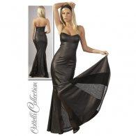 """Φόρεμα Μακρύ Μαύρο """"Γοργόνα"""""""