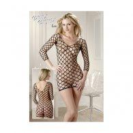 Μίνι Φόρεμα Δικτυωτό S-L