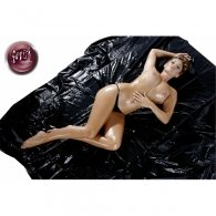 Σεντόνι Βινυλίου Μαλακό Μαύρο 200 Χ 230 cm