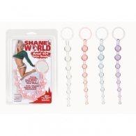 Διαφανές Πρωκτικές μπίλιες Shanes World Anal Beads