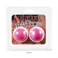 Μπαλάκια Agitating Marballs ροζ