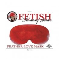 Μάσκα Fetish Fantasy Feather Mask - Red