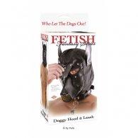 Μάσκα Doggy Hood And Leash