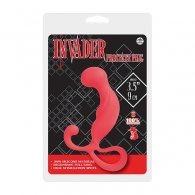 """Πρωκτική Σφήνα """"Invader Prostate"""" P-Plug κόκκινο χρώμα"""