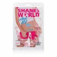 Πρωκτικές μπίλιες Shanes World Anal Beads ροζ