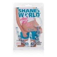 Πρωκτικές μπίλιες  Shanes World Anal Beads μπλε
