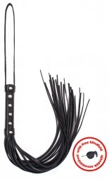 Whip black with Angel Touch sign