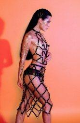 BDSM Γυναικείο αξεσουάρ από δέρμα και μεταλλικούς κρίκους