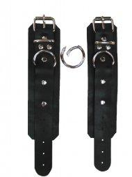 BDSM Χειροπέδες για χέρια και πόδια από δέρμα