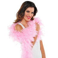 PINK FEATHER BOA 1.83 CM