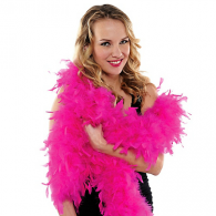 FUCHSIA FEATHER BOA 1.83 CM