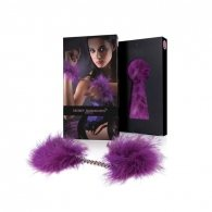 Secret Play Purple Marabou Handcuffs