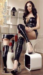 Erotic Wetlook Overknees