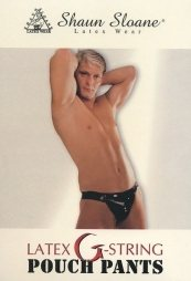 Latex G-String Pouch Pants
