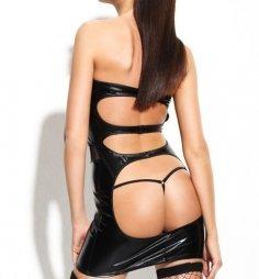 Dagmar Short Dress with Stocking