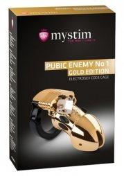 MyStim Pubic Enemy No 1 Gold Edition