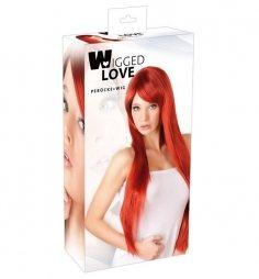 Περούκα μακριά ίσια κόκκινα μαλλιά