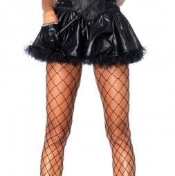 Wetlook Petticoat Skirt