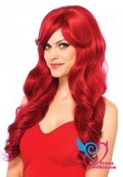 Leg Avenue Long Wavy Red Wig
