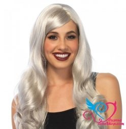Leg Avenue Long Wavy Grey Wig