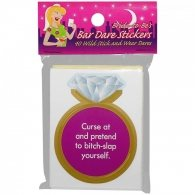 Bride to be Bar Dares Stickers
