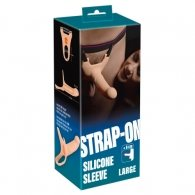 You2Toys Silicone Strap-on 19cm Large