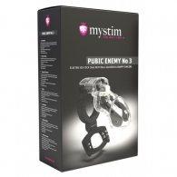 Ηλεκτρο κλουβί πέους Mystim Pubic Enemy No 3