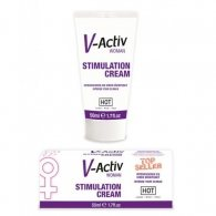 Κρέμα διέγερσης κλειτορίδας V-Activ Stimulation Creme Woman 50 m
