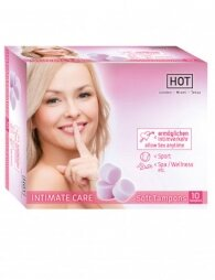 Hot Intimate Care Soft Tampon 10 pcs