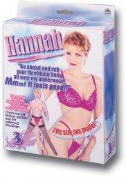 Hannah PVC New Silk Screening Doll