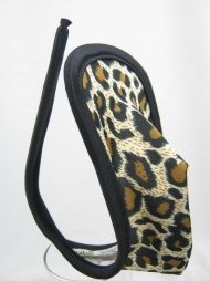 Leopard C string for man