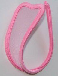 Transparent Pink C String