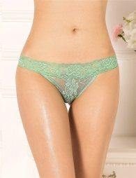 Seductive Bright Green Thong