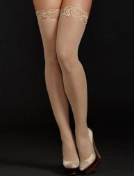 Nude Sexy stocking with lace